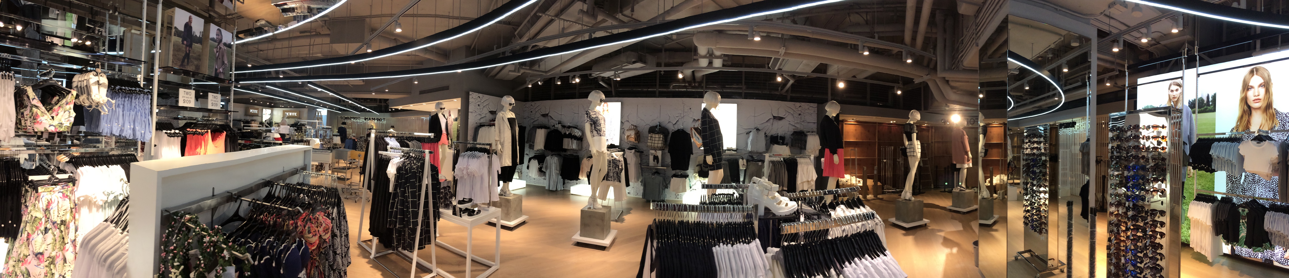 TopShop at Hong Kong