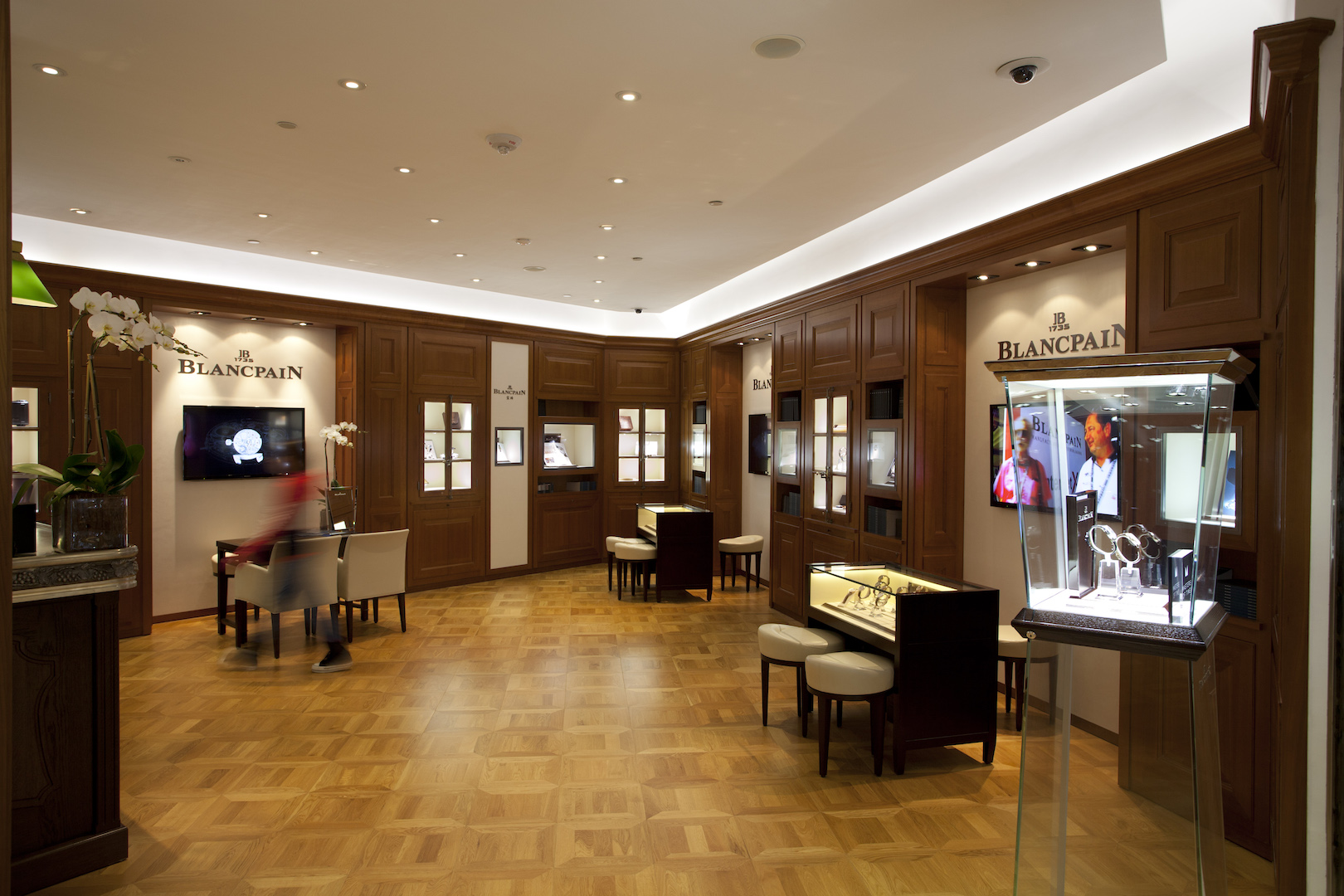Blancpain at Four Seasons DFS Galleria
