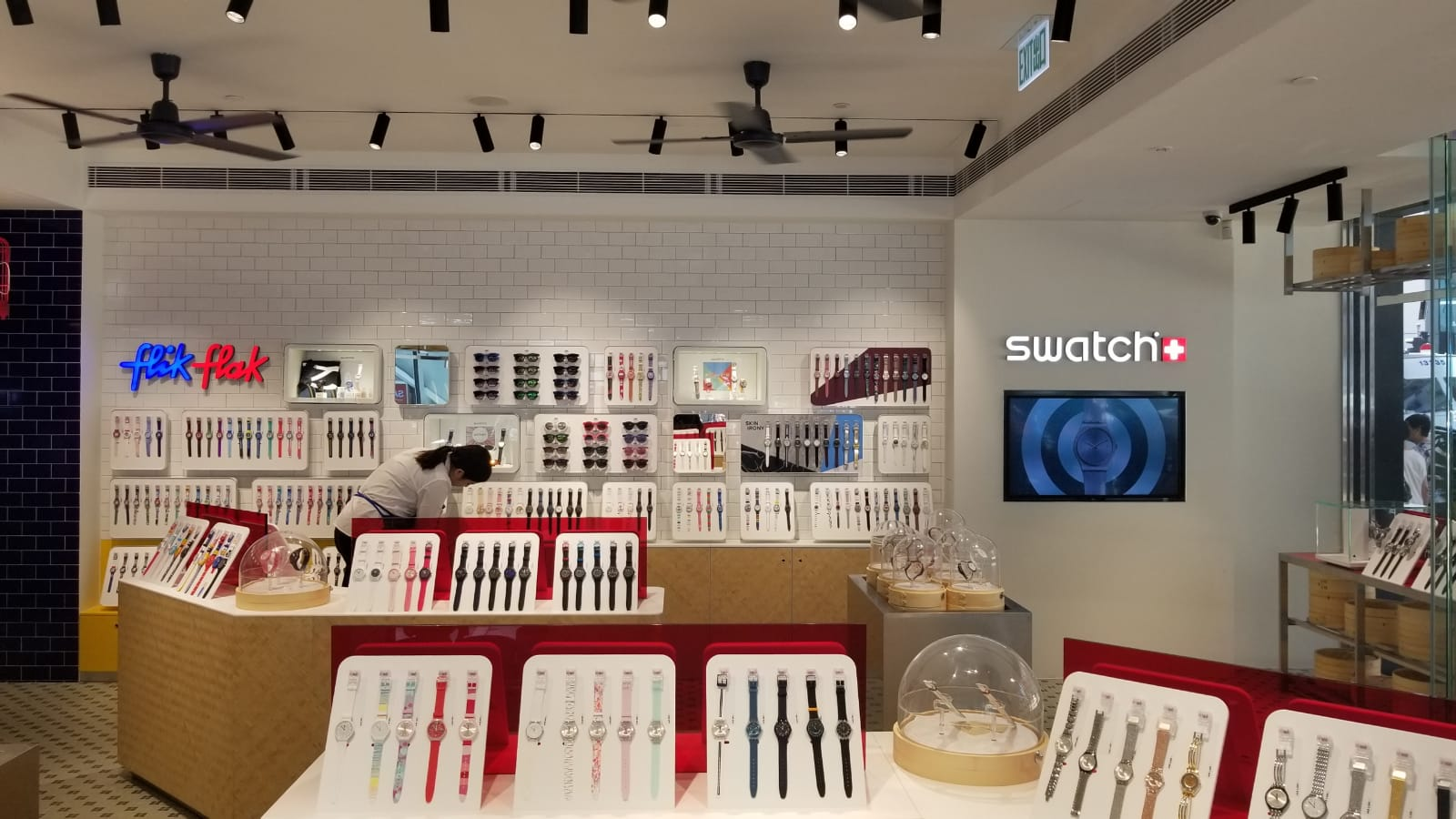 Retail Project - Swatch